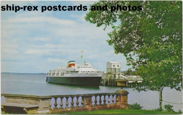 BLUENOSE (1956a, Canadian National) postcard (d)